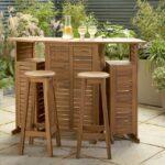 Argos launches space-saving foldable garden bar