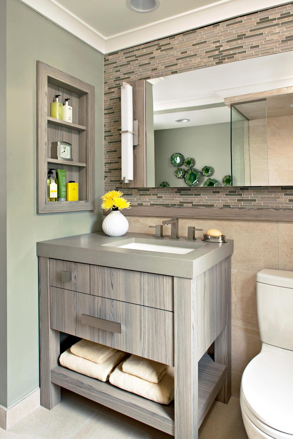 20 Small Bathroom Vanity Ideas That Pack in Plenty of Storage