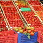 Tomatoes at the Grocery Store