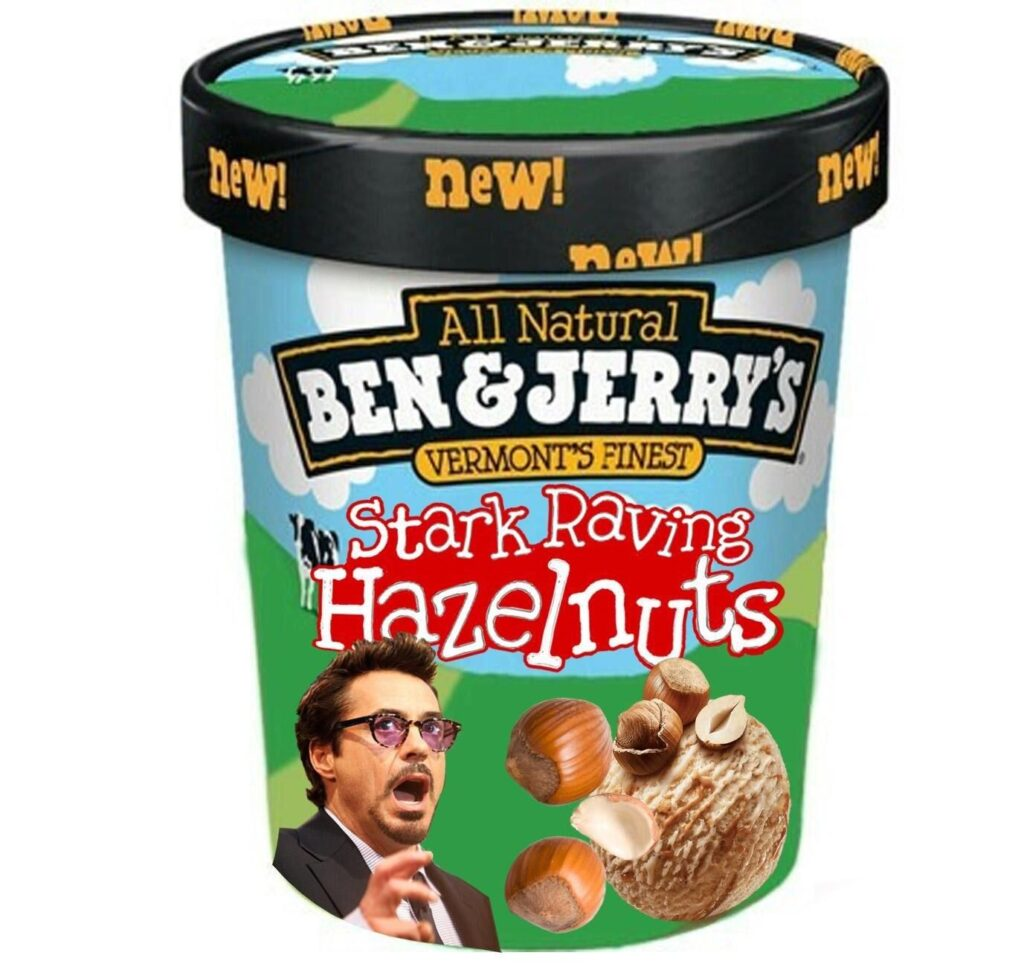 Ice Cream Flavors Inspired By Avengers