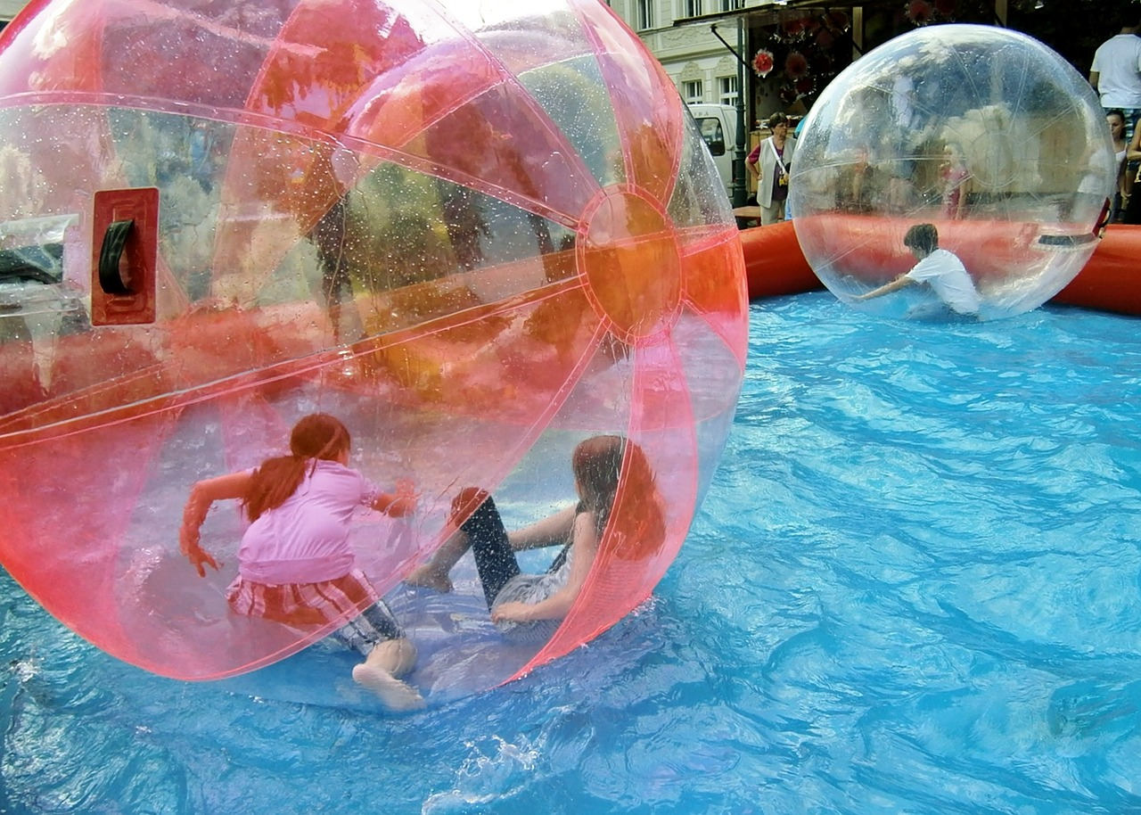 You Can now Walk on Water with the Zorb Water Ball