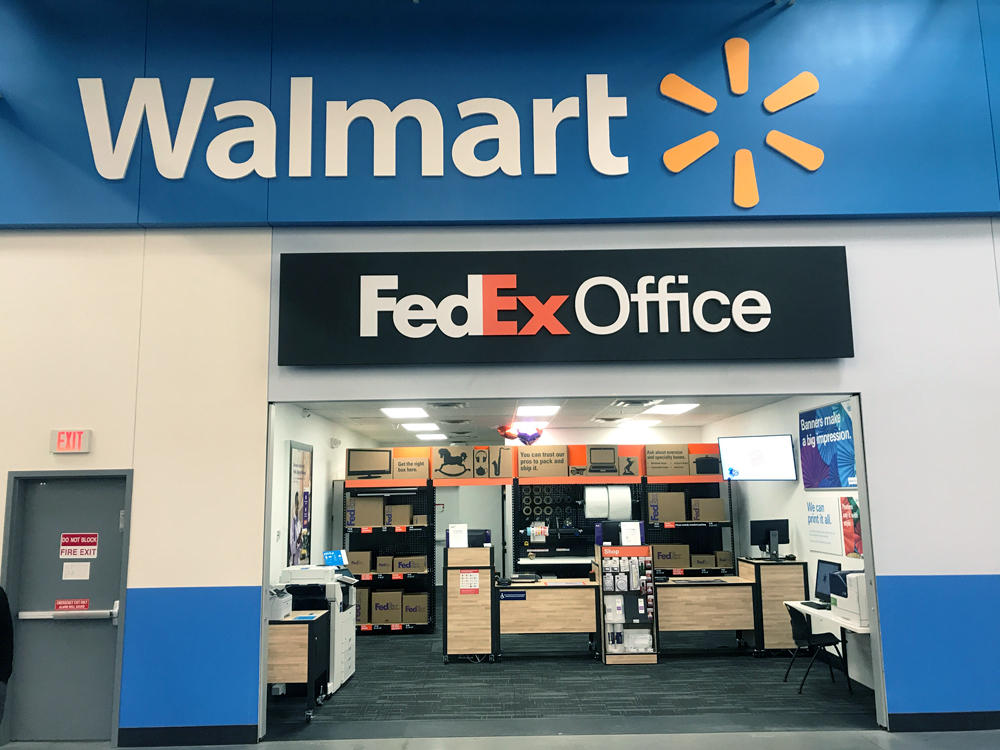 you can drop your return item at FedEx than going to Walmart